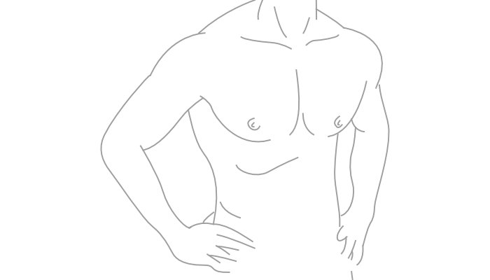 Prótese de Peitoral Masculino